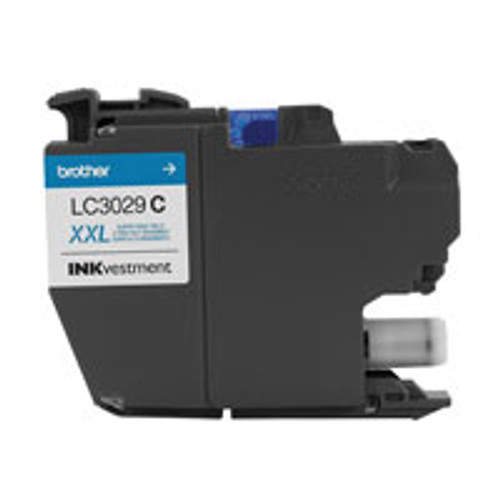 Original Brother LC3029C 1500pages Cyan ink cartridge