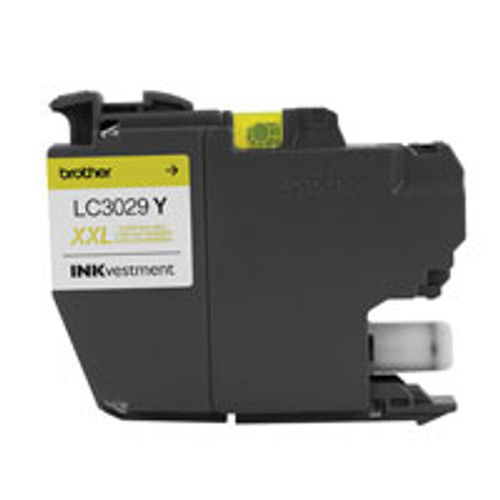 Original Brother LC3029Y 1500pages Yellow ink cartridge