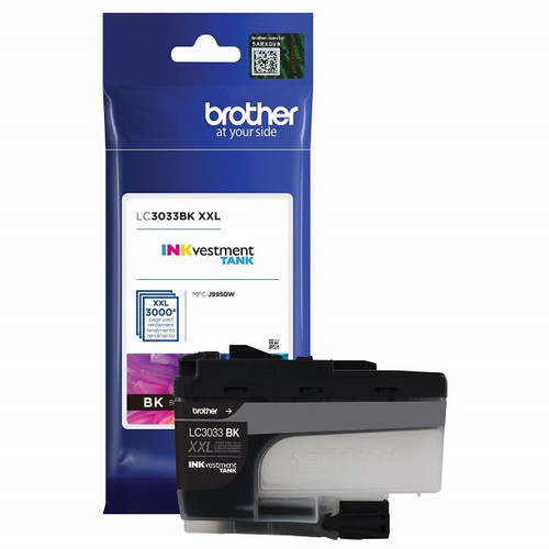 Original Brother LC3033BK Super High Yield Black Ink Cartridge