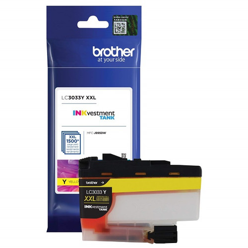 Original Brother LC3033Y Super High Yield Yellow Ink Cartridge