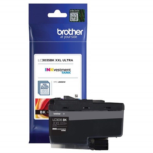 Original Brother LC3035BK Ultra High Yield Black Ink Cartridge