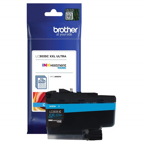 Original Brother LC3035C Ultra High Yield Cyan Ink Cartridge