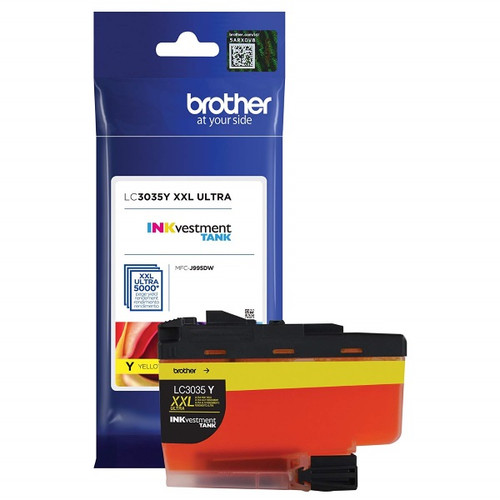 LC-3035   Original Brother Ultra High-Yield Ink Cartridge – Yellow
