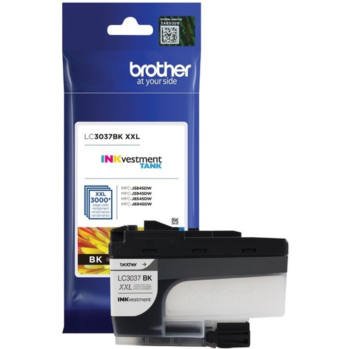 Original Brother LC3037BK Super High Yield Black Ink Cartridge