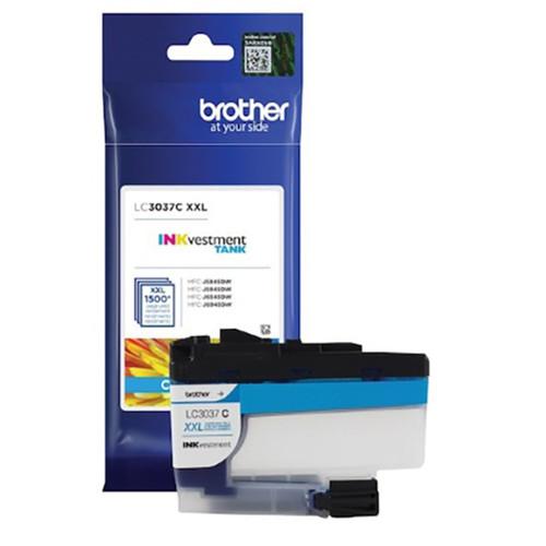 LC-3037   Original Brother Super High-Yield Ink Cartridge – Cyan