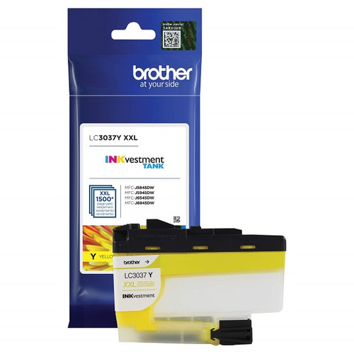 Original Brother LC3037Y Super High Yield Yellow Ink Cartridge