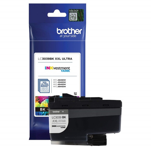 Original Brother LC3039BK Ultra High Yield Black Ink Cartridge