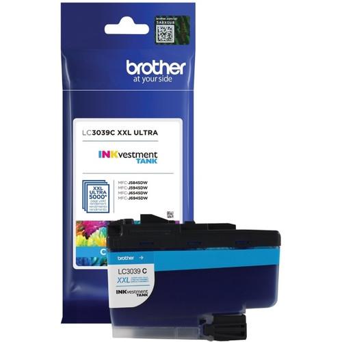 Original Brother LC3039C Ultra High Yield Cyan Ink Cartridge