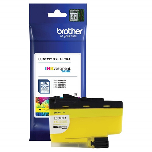 Original Brother LC3039Y Ultra High Yield Yellow Ink Cartridge