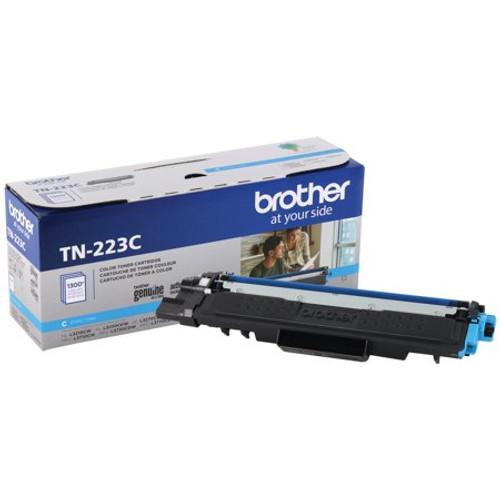 Original Brother TN223C TN-223C OEM Toner Cyan 1300 Pages Standard Yield
