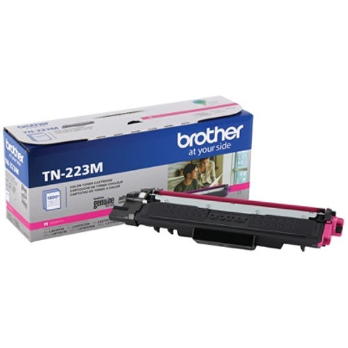 Original Brother TN223M TN-223M OEM Toner Magenta 1300 Pages Standard Yield