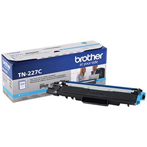 Original Brother TN227C TN-227C OEM Toner Cyan 2300 Pages High Yield