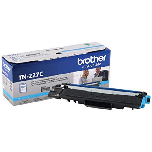 Original Brother TN227C TN-227C OEM Toner Cyan 2300 Pages High Yield