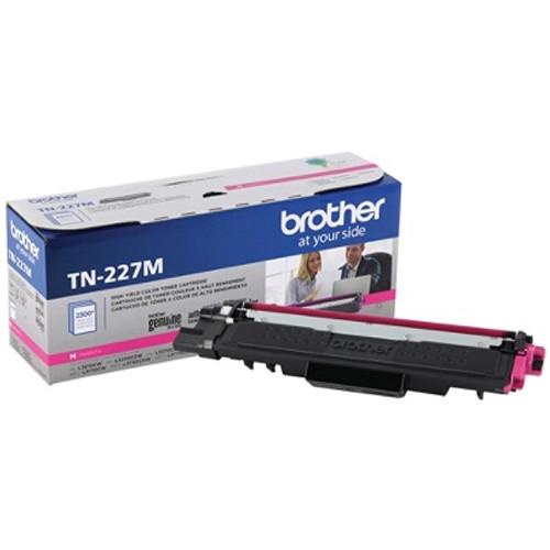 Original Brother TN227M TN-227M OEM Toner Magenta 2300 Pages High Yield