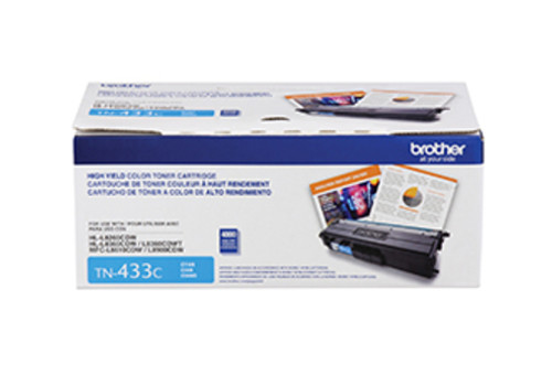 Original Brother TN433C TN-433C Laser cartridge 4000pages Cyan laser toner & cartridge