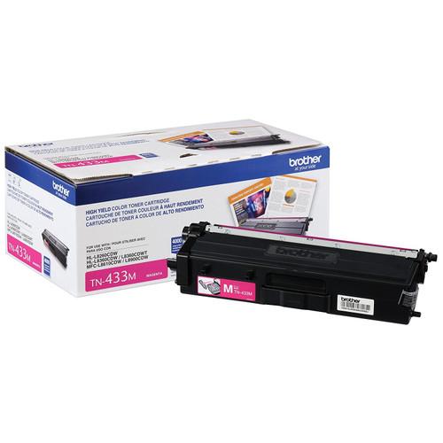Original Brother TN433M TN-433M Laser cartridge 4000pages Magenta laser toner & cartridge