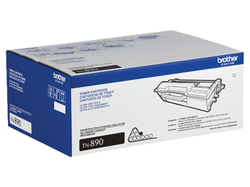 Original Brother TN890 TN-890 Black Toner Cartridge
