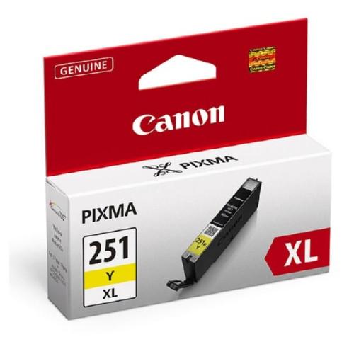 6451B001 | Canon CLI-251XL | Original Canon High Yield Ink Cartridge - Yellow