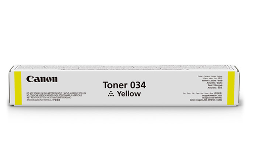9451B001 | Canon 034 | Original Canon Toner Cartridge – Yellow