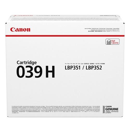 Original Canon 0288C001 039H Laser cartridge 25000 pages Black
