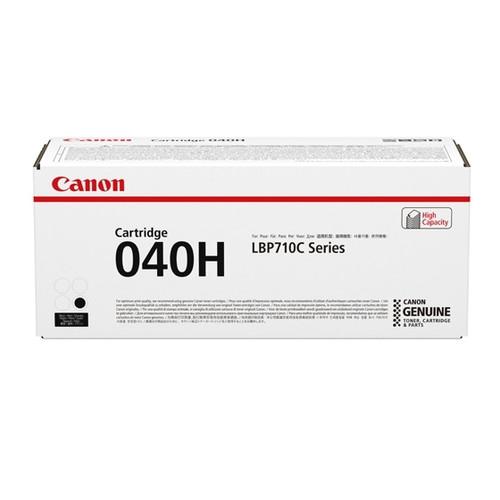 0461C001   Canon 040H   Original Canon High-Yield Laser Toner Cartridge - Black