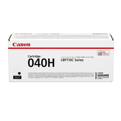 0461C001 | Canon 040H | Original Canon High-Yield Laser Toner Cartridge - Black