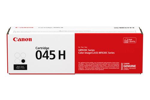 1246C001AA   Canon 045H   Original Canon High-Yield Laser Toner Cartridge - Black