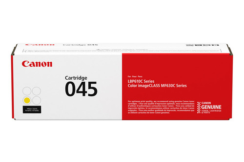 1239C001AA | Canon  045 | Original Canon Laser Toner Cartridge - Yellow