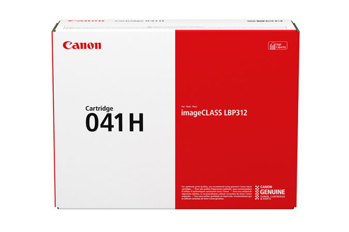 0453C001AA   Canon 041   Original Canon  Laser Toner Cartridge - Black