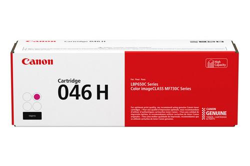 1252C001AA | Canon 046H | Original Canon High-Yield Laser Toner Cartridge - Magenta