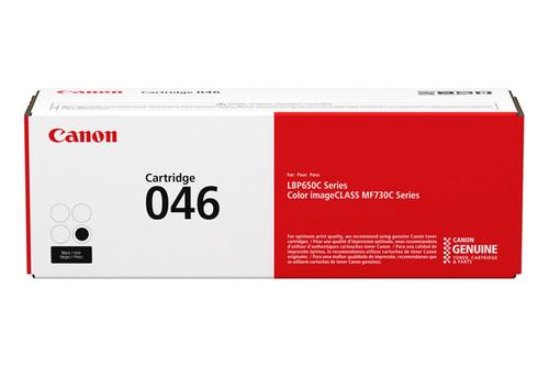 1250C001AA   Canon 046   Original Canon Laser Toner Cartridge - Black