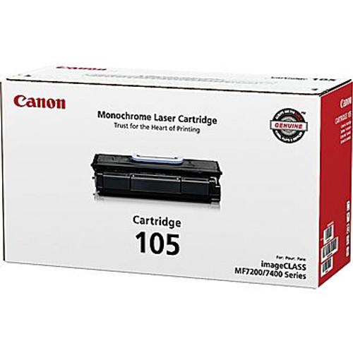 Original Canon 0265B001 105 Black Toner Cartridge (0265B001AA) Genuine