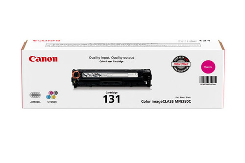 6270B001   Canon 131   Original Canon Laser Cartridge - Magenta