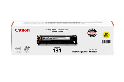 6269B001 | Canon 131 | Original Canon Laser Toner Cartridge - Yellow