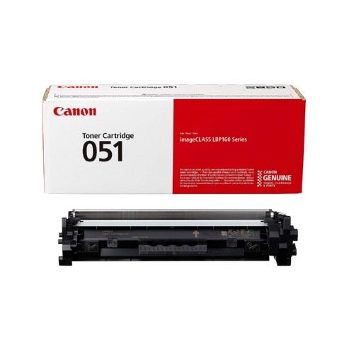 2168C001AA   Canon 051   Original Canon Toner Cartridge - Black