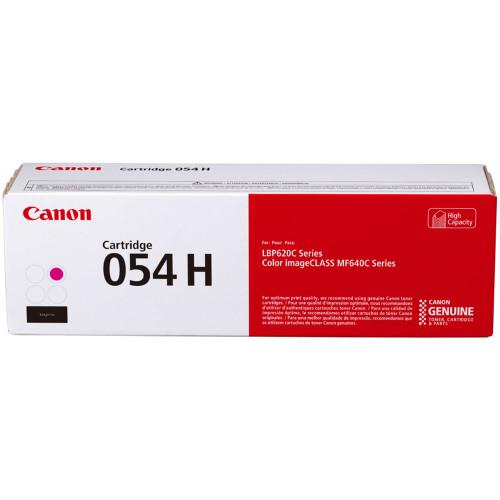3026C001 | Canon 054H | Original Canon High-Yield Laser Toner Cartridge - Magenta