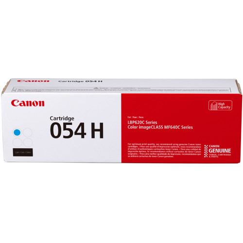 3027C001 | Canon 054H | Original Canon High-Capacity Toner Cartridge - Cyan