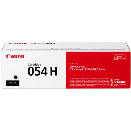 3028C001   Canon 054H   Original Canon High-Yield Laser Toner Cartridge - Black