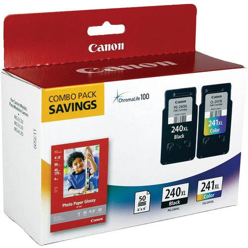 5206B005 | Original Canon Ink Cartridge Combo Pack - Black, Cyan, Yellow, Magenta