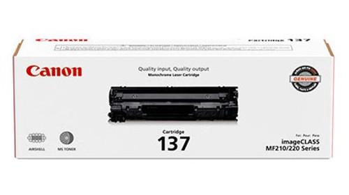 9435B001   Canon 137   Original Canon Toner Cartridge - Black