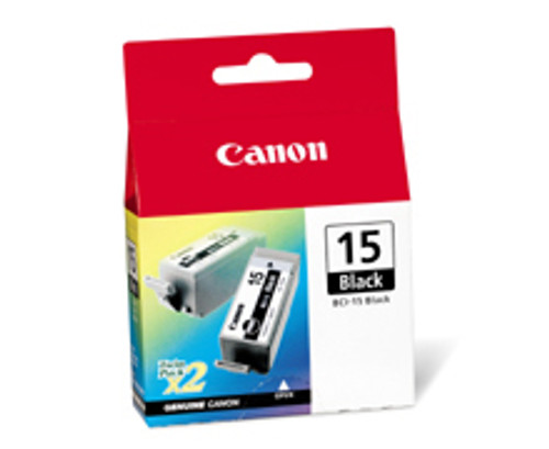 8190A003   Canon BCI-15   Original Canon Ink Cartridge - Black