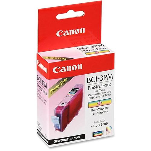 4484A003   Canon BCI-3   Original Canon Ink Cartridge - Photo Magenta