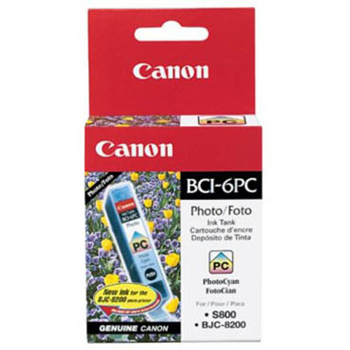 4709A003 | Canon BCI-6 | Original Canon Ink Cartridge - Photo Cyan
