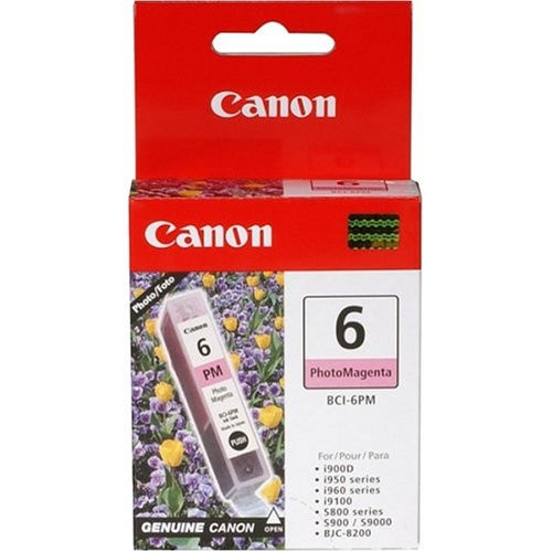 4710A003 | Canon BCI-6 | Original Canon Ink Cartridge - Photo Magenta