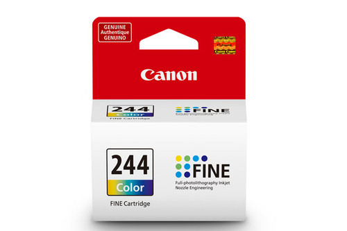 1288C001   Canon CL-244   Original Canon Ink Cartridge - Tricolor