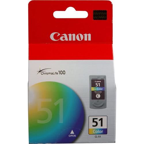 0618B002 | Canon CL-51 | Original Canon Ink Cartridge - Tricolor