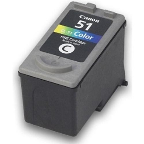 0618B002   Canon CL-51   Original Canon Ink Cartridge - Tricolor