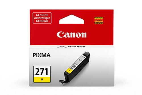 0393C001 | Canon CLI-271 | Original Canon Ink Cartridge - Yellow