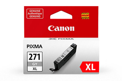 Original Canon 0340C001 CLI-271 XL ink cartridge Grey 10.8 ml