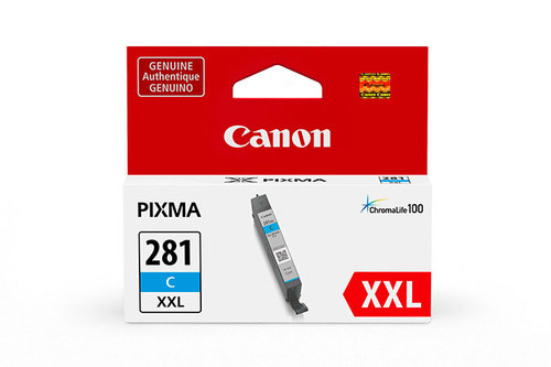 Original Canon 1980C001 CLI-281XXL ink cartridge Cyan